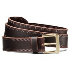 Allen Edmonds Men's Quay Ave Belt In Brown Leather