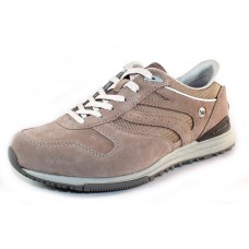 Allrounder By Mephisto Men's Atlanta In Taupe Suede/Sand Tela Mesh 37/37
