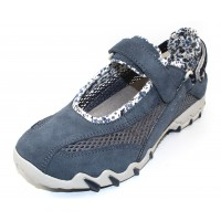 Allrounder By Mephisto Women's Niro In Teal Suede/Open Mesh 95/95