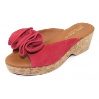 Andre Assous Women's Basha In Red Suede
