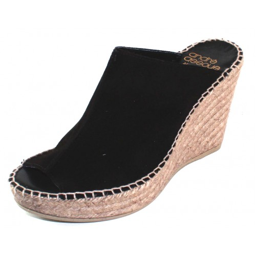 Andre Assous Women's Cici In Black Suede