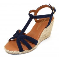 Andre Assous Women's Madina In Navy Suede