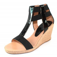 Andre Assous Women's Pippi In Black Patent Leather/Stretch
