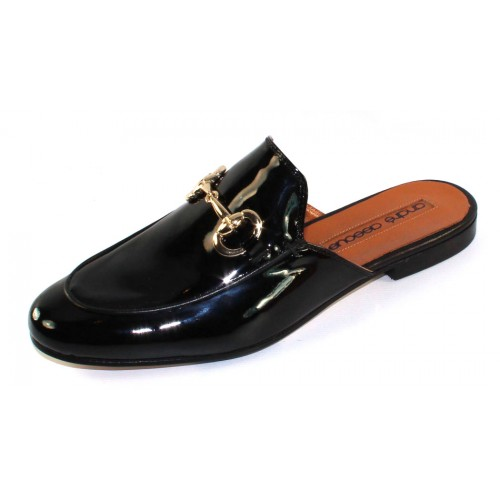 Andre Assous Women's Priya In Black Patent Leather