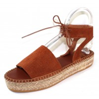 Andre Assous Women's Sabina In Cuero Rust Suede