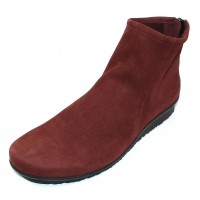 Arche Women's Baryky In Rioja Hunter Grain Nubuck - Burgundy