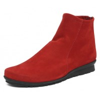 Arche Women's Baryky In Rubis Hunter Grain Nubuck - Ruby Red