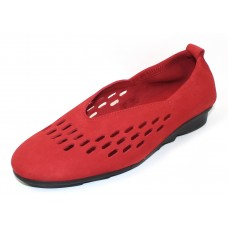 Arche Women's Bibiza In Feu Nubuck - Bright Red