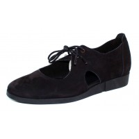 Arche Women's Ceon In Noir Nubuck - Black