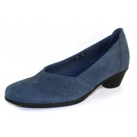 Arche Women's Cynaye In Mauna Nubuck - Blue Grey