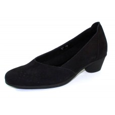 Arche Women's Cynaye In Noir Nubuck - Black