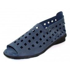 Arche Women's Drick In Mauna Nubuck - Blue Grey