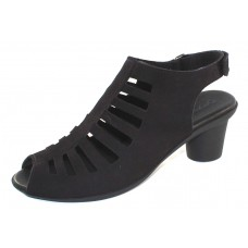 Arche Women's Elexor In Noir Nubuck - Black