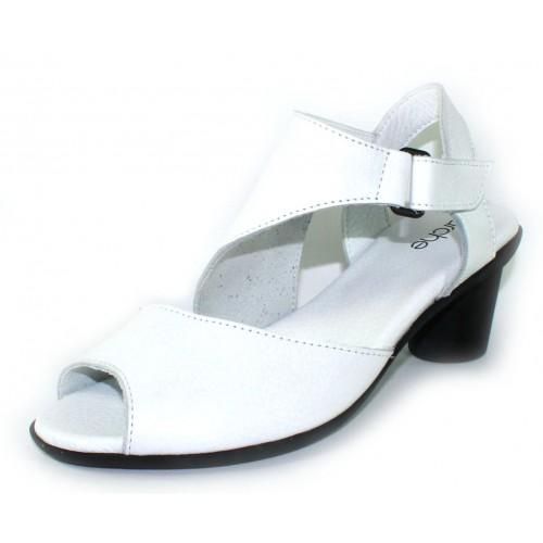 Arche Women's Elexus In Blanc Fast Leather - White