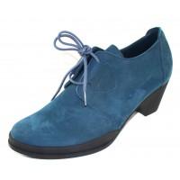 Arche Women's Getrem In Ness Nubuck - Marine Blue