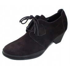 Arche Women's Getrem In Noir Nubuck - Black