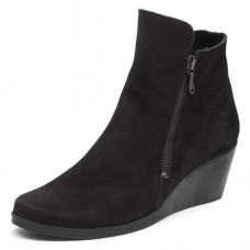 Arche Women's Jolia In Noir Nubuck - Black