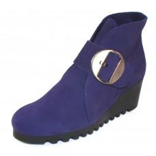 Arche Women's Larrie In Encre Nubuck - Purple