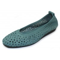 Arche Women's Lilly In Celadon Nubuck - Pastel Aqua Blue