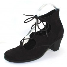 Arche Women's Maokoo In Noir Nubuck - Black