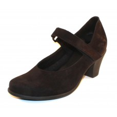 Arche Women's Maora In Noir Nubuck - Black