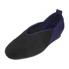 Arche Women's Nino In Noir Microfiber/Encre Nubuck - Purple