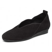 Arche Women's Nino In Noir Nubuck - Black