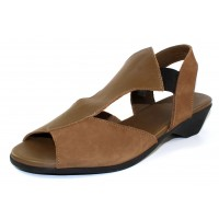 Arche Women's Obelka In Enyo Nubuck/Leather - Olive