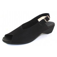 Arche Women's Oblick In Noir Nubuck - Black