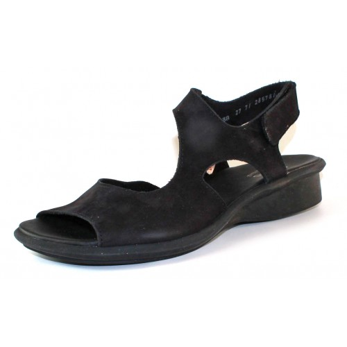 Arche Women's Sakari In Noir Nubuck - Black