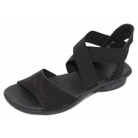 Arche Women's Satia In Noir Nubuck - Black