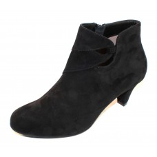 Beautifeel Women's Bette In Black Suede