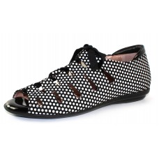 Beautifeel Women's Edyta In 3D Polka Dots Suede Combo