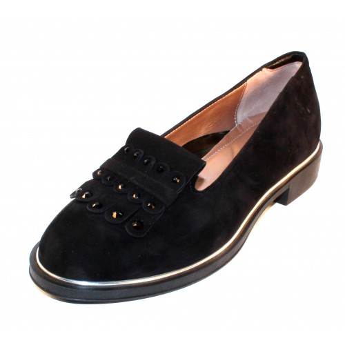 Beautifeel Women's Elsie In Black Suede/Leather