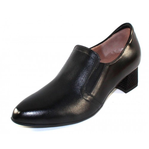 Beautifeel Women's Heather In Black Grain Leather