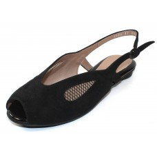 Beautifeel Women's Irma In Black Suede/Mesh