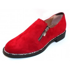 Beautifeel Women's Issey In Red Suede