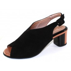 Beautifeel Women's Keata In Black Suede/Bisque Patent Leather