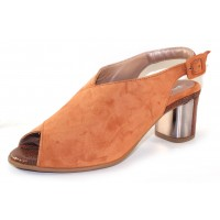 Beautifeel Women's Keata In Saddle Rust Suede/Printed Snake Suede