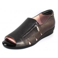 Beautifeel Women's Liv In Pewter Leather