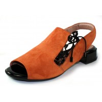 Beautifeel Women's Liv In Saddle Suede/Black Patent Leather