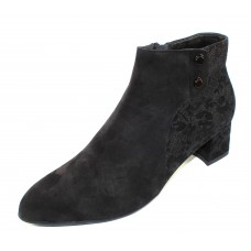 Beautifeel Women's Mina In Black Suede/3D Chantilly Suede