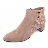 Beautifeel Women's Mina In Ecru Suede/3D Chantilly Suede