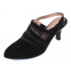 Beautifeel Women's Nury In Black Suede/Mesh