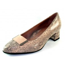 Beautifeel Women's Paola In Nude Rejuis Print Suede