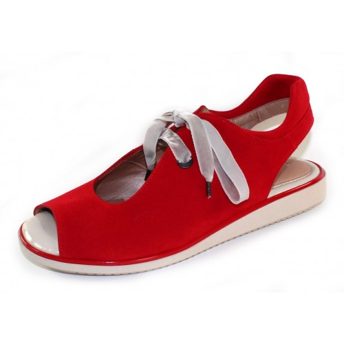 Beautifeel Women's Rena In Fire Red Suede