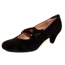 Beautifeel Women's Rose In Black Suede
