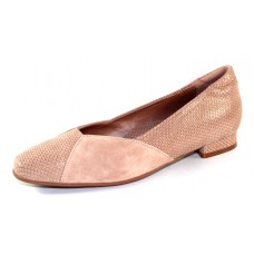 Beautifeel Women's Saoirse In Champagne 3D Scale Printed Suede/Suede Combo