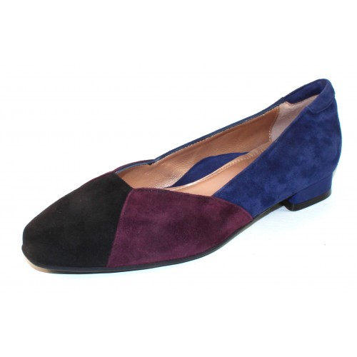 Beautifeel Women's Saoirse In Black/Wine/Blue Suede