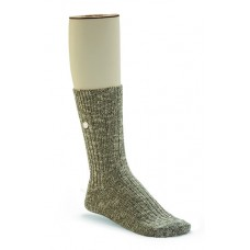 Birkenstock Cotton Slub Sock In Grey Cotton